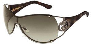Gucci GUCCI GG2802/S OVB/MH Sunglasses Brown Dark Havana