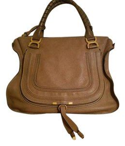 Chlo Chloe Marcie Large Tote in Nut Brown