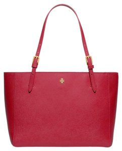 Tory Burch Tote in Kir Royale (red)