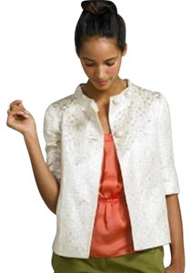 J.Crew white gold Jacket