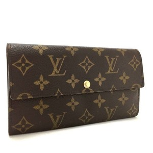 Louis Vuitton Louis Vuitton Monogram Sarah Long Bifold Wallet