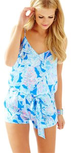 Lilly Pulitzer Beach Romper Flirty Dress