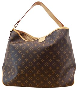 Louis Vuitton Lv Delightful Mm Monogram Shoulder Bag