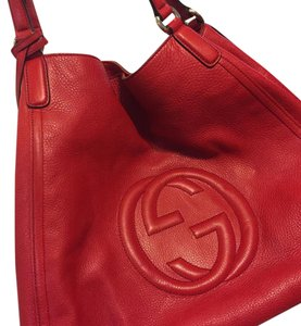 Gucci Red Travel Bag