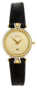 Gucci 4500L Two Tone Stainless & Gold Plated Ladies Watch
