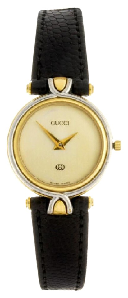 d8a36ae38f4 Gucci Gold Face 4500l Two Tone Stainless   Plated Ladies Watch - Tradesy
