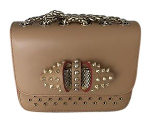 Christian Louboutin Sweet Charity Spikes Cross Body Bag