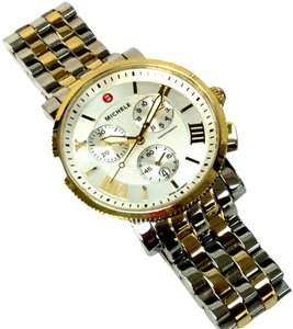 Michele Sale!!!! Michele Two Tone Sport Sail Watch