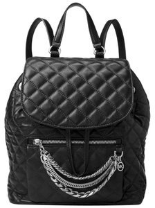 Michael Kors Leather Silver Cheyenne New With Tags Backpack