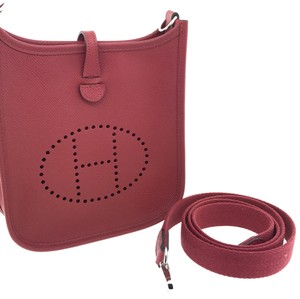 Hermès Hermes Tpm Evelyne Leather Cross Body Bag