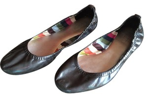 Coach Ballet Patent Leather Delight Black Flats