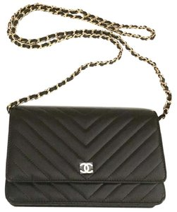 Chanel 2017 Sold Out Package New Chevron Cross Body Bag