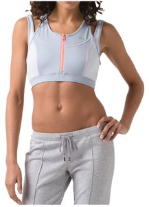 Lacoste Lacoste Women'sFitness & Yoga Technical Jersey Mixed Mesh Sports Bra