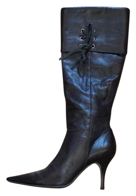 Item - Black Pointy Toed Boots/Booties Size US 8 Regular (M, B)