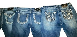 3 Pairs Miss Me Boot Cut Jeans-Distressed