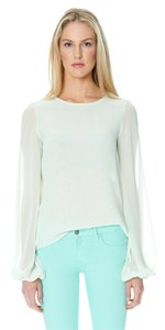 Sandra Weil Top Mint Green