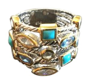 Brighton like Multi stone stack look ring