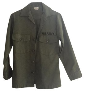 Urban Outfitters U.s.army Buttons Military Jacket