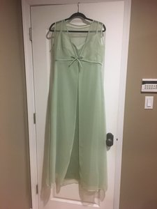 Mint Green Rn# 91947 Dress