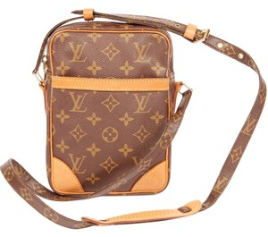 Louis Vuitton Monogram Canvas Cross Body Bag