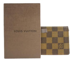 Louis Vuitton Damier Ebene ID Holder 41LVA1213