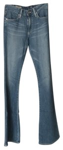 AG Adriano Goldschmied Wide Leg Pants denim