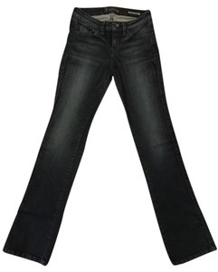 Guess Brittney Stretchy Petite Boot Cut Jeans-Dark Rinse
