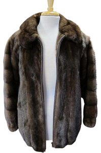 Custom Fur Jacket Brown Jacket