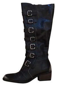 Matisse Black Rough Out Boots