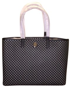 Tory Burch Tote in Black/White