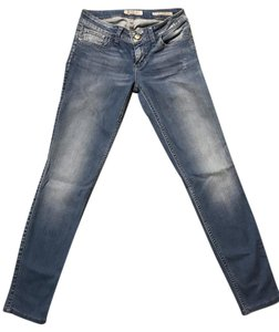Guess Power Skinny Stretchy Skinny Jeans-Light Wash