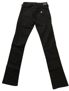 Guess Starlet Denim Low Rise Straight Leg Jeans-Dark Rinse