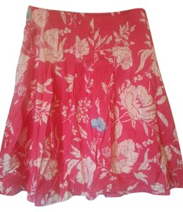 Old Navy Floral Ruffled Skirt