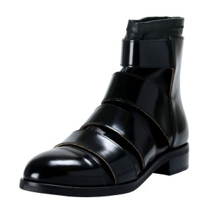 MM6 Maison Martin Margiela Ankle Black Boots