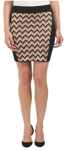 Rag & Bone Mini Skirt Black Multi