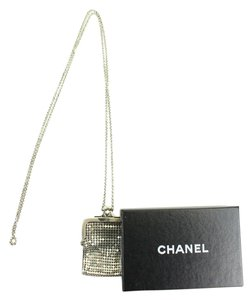 Chanel Kisslock Mesh Minaudiere Crossbody 212853