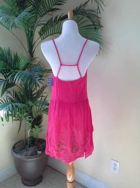 Free People short dress Bright Pink on Tradesy