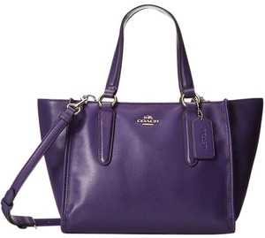 Coach Shoppers Tote in Purple