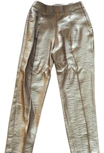 Zara Trouser Pants gold