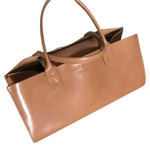 Kate Spade Leather Tote in Camel