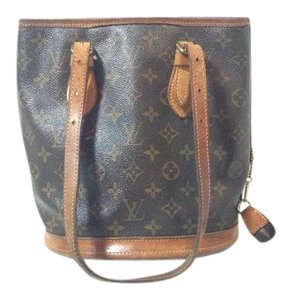Louis Vuitton Vintage Bucket Petit Petit Bucket Cross Body Bag