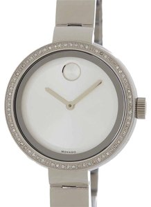 Movado Bold Diamond Bezel Bangle Watch