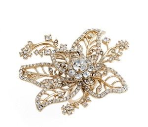 Marchesa Marchesa Ring Crystal Flower 6.5 Exquisite