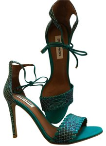 Steve Madden Blue Green Leather Turquoise Formal
