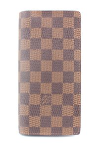 Louis Vuitton Damier Ebene Brazza Bifold Wallet