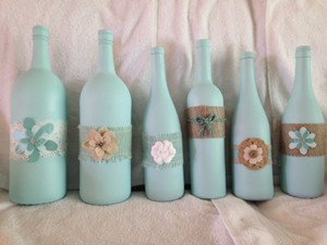 Decorative Bottles For Centerpieces