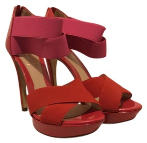 Fendi Pink/ red/ fuschia Sandals