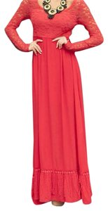 red Maxi Dress by Valentines