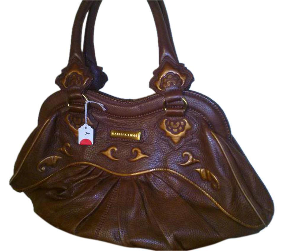 Isabella Fiore Satchel In Leather