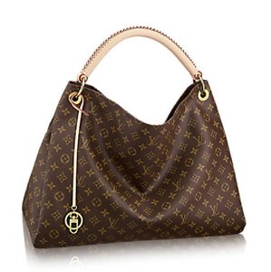 Louis Vuitton Lv Artsy Damier Canvas Hobo Bag